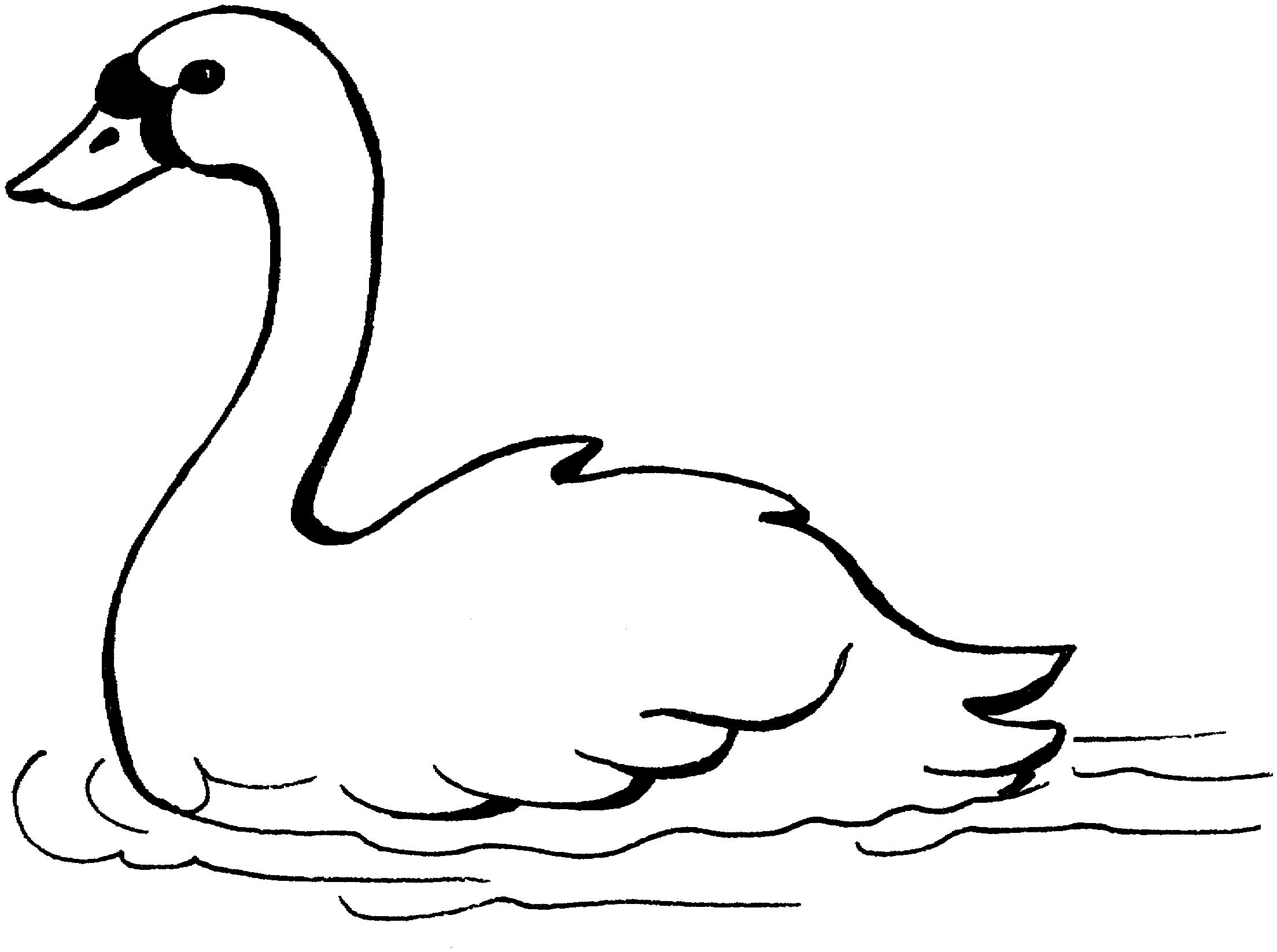 Для мамы, лебеди картинки для распечатки